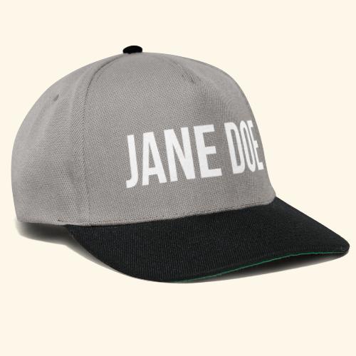 JaneDoe - Snapback Cap