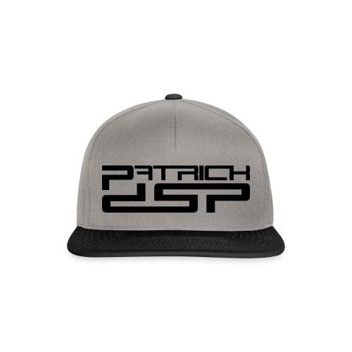 Patrick DSP Black Logo - Snapback Cap