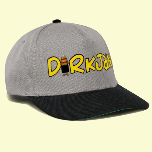 DIRKJAN Logo - Snapback cap