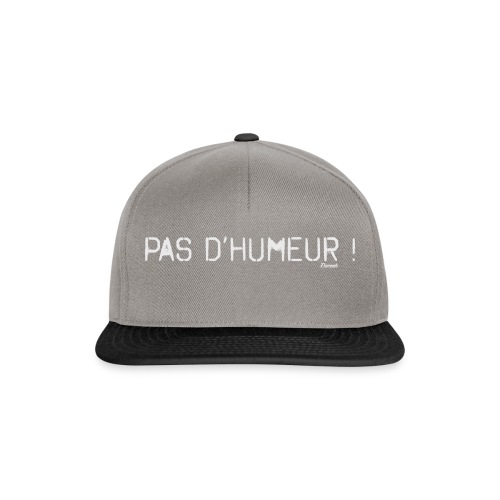 *NEW* Mauvaise humeur ! (F) - Casquette snapback