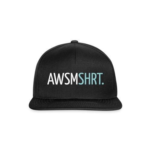 awsmshrt3000 - Snapback cap