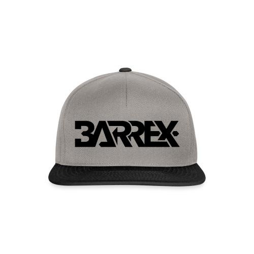 barrex logo black transpa - Snapback Cap