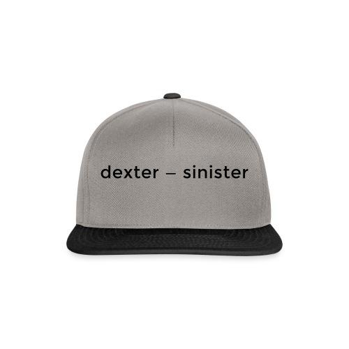 dexter sinister - Snapbackkeps