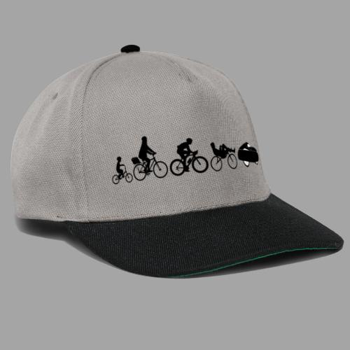 Bicycle evolution black - Snapback Cap