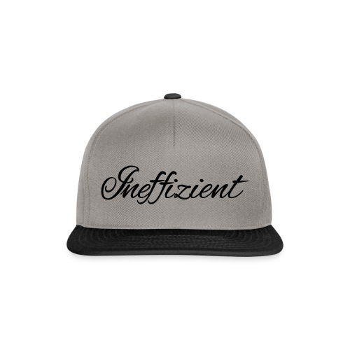Ineffizient - Seven of Nine Spruch - Snapback Cap
