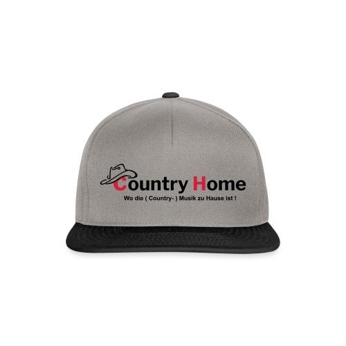 CountryHome Logo mit Slogan (Deutsch) - Snapback Cap