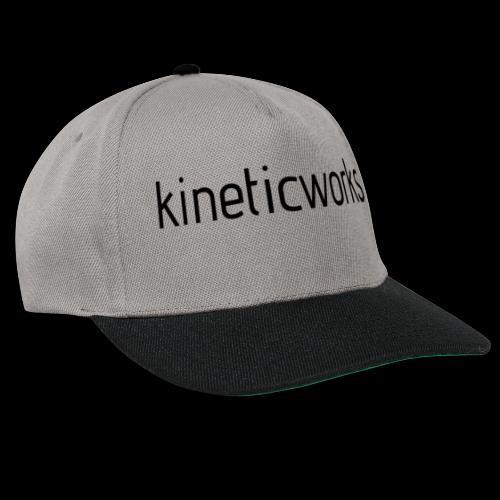 kineticworks black - Snapback Cap