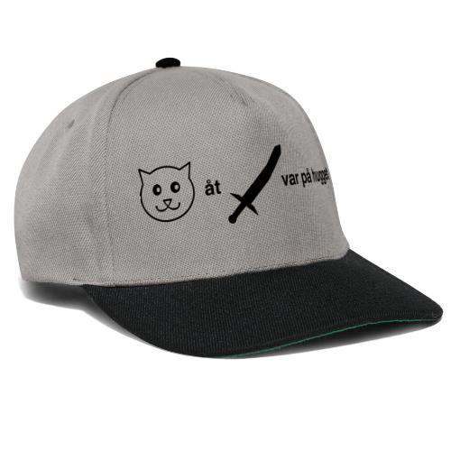 Katt åt svärd - Snapbackkeps