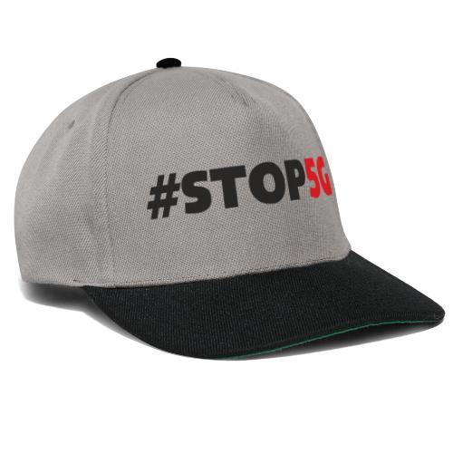 Stop5G linea logo - Snapback Cap