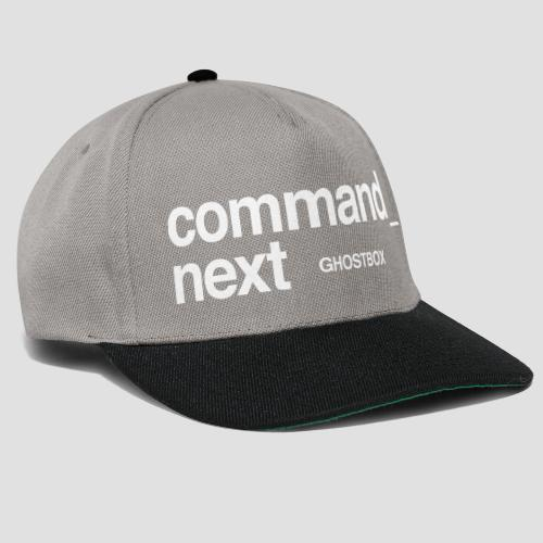 Command next - Snapback Cap