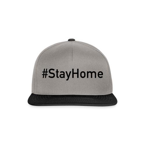 StayHome - Snapback Cap