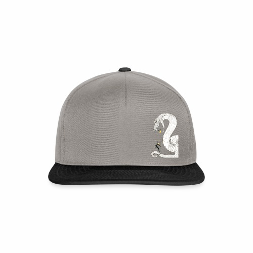 Poison - Fight against a giant poisonous snake - Snapback Cap