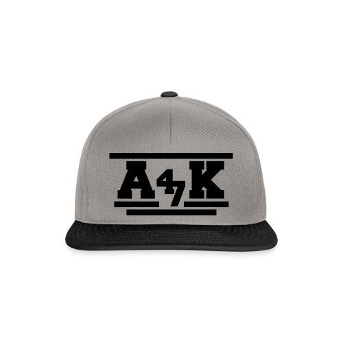 - A _K - - Snapback Cap