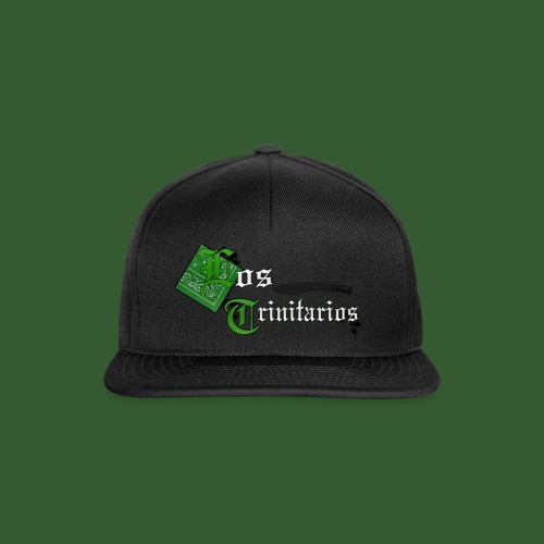 588223LosTrinitarios BIG png - Snapback Cap
