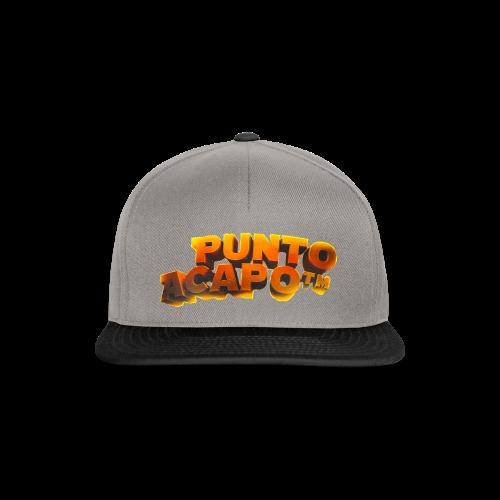 Maglietta PuntoACapo- Original Design- - Snapback Cap