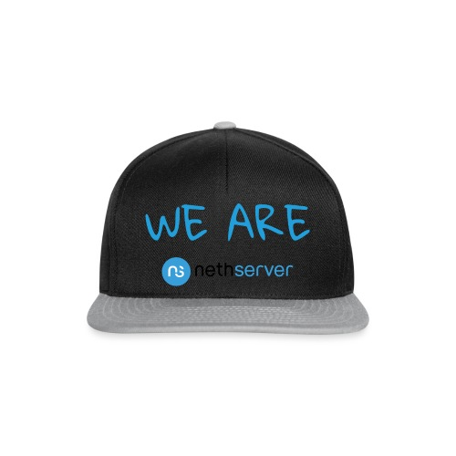 blue-black-rectangle - Snapback Cap