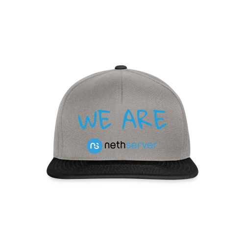 blue-black-rectangle - Snapback Cap