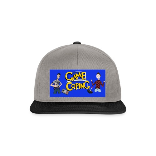 Game Coping Happy Banner - Snapback Cap