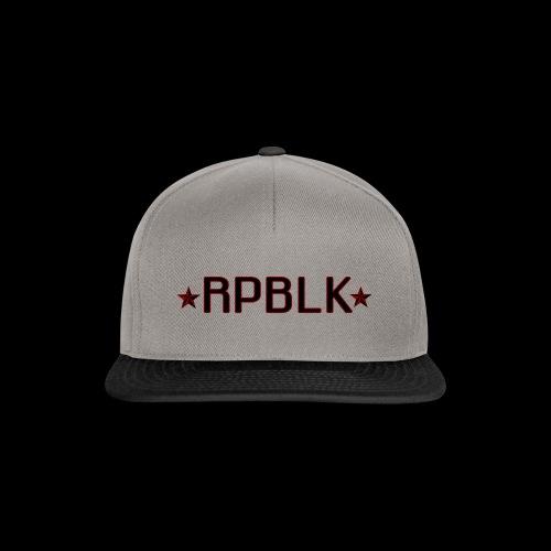 RPBLK - Snapback Cap