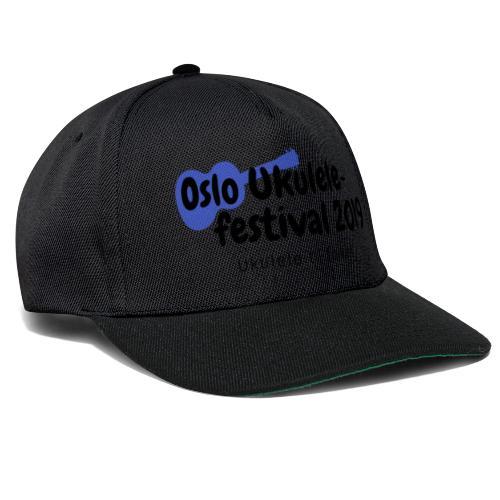 Oslo Ukulelefestival 2019 i svart - Snapback-caps