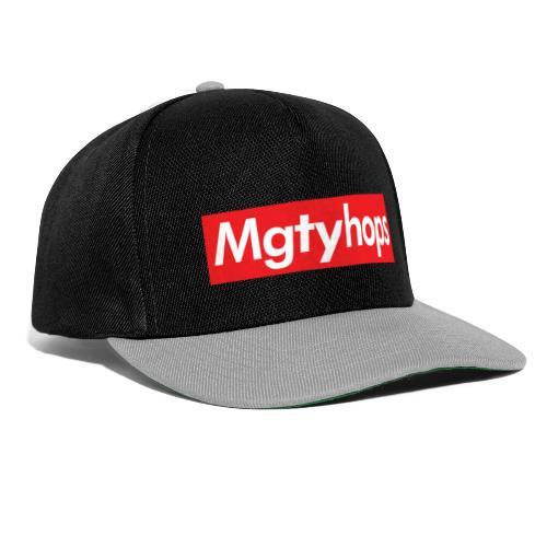 Mgtyhops Red bar - Snapbackkeps