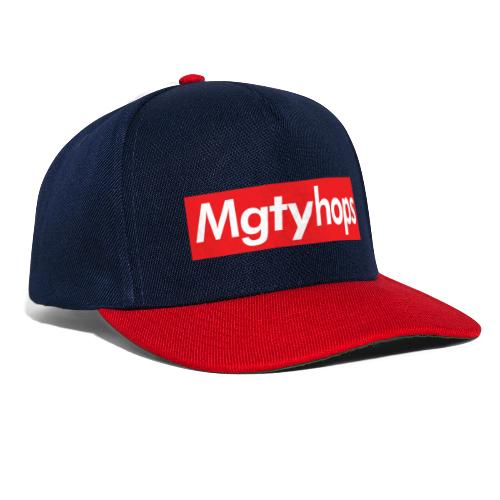 Mgtyhops Red bar - Snapbackkeps