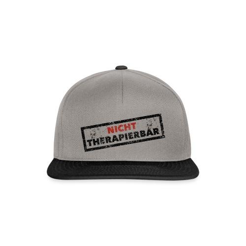 Nicht therapierbar - Snapback Cap