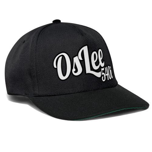 OsLeeLogoschattenGross - Snapback Cap