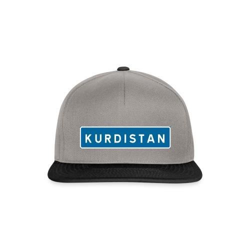 Kurdistanskylt - Snapbackkeps