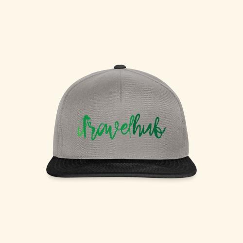 itravelhub logo - Snapback Cap
