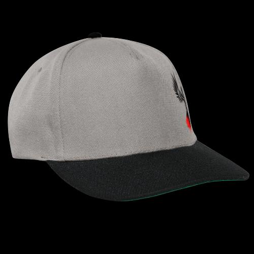 Half Raven - Snapback Cap