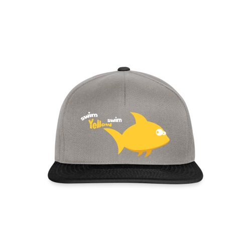 Yellow - Snapback cap