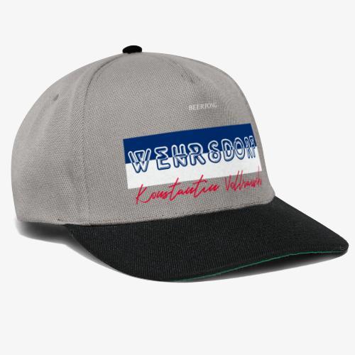 KV34 X Wehrsdorf - Snapback Cap
