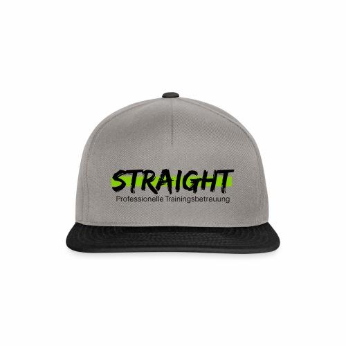 Straight Logo - Snapback Cap