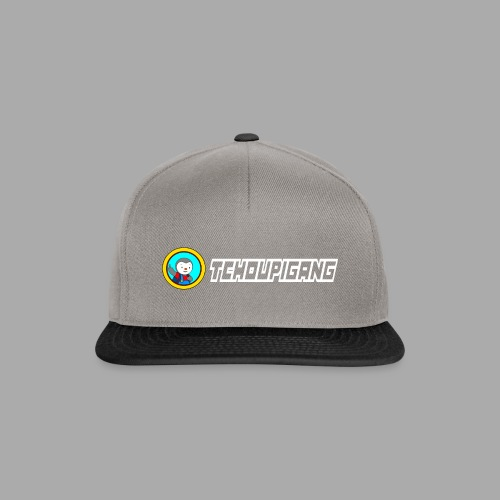 "Seconde collections ""BLANC"" - Casquette snapback"