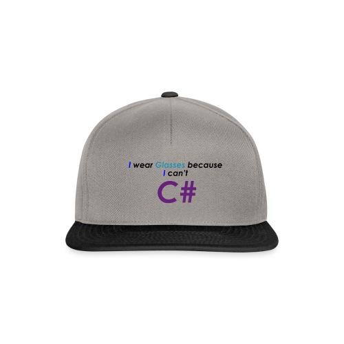 Can't C# - Snapback Cap