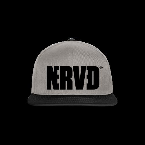 Official Nerved® Logo Black - Snapback Cap