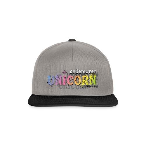 Undercover Unicorn - Casquette snapback