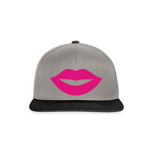 2000px-Lips_Silhouette-svg-png - Casquette snapback
