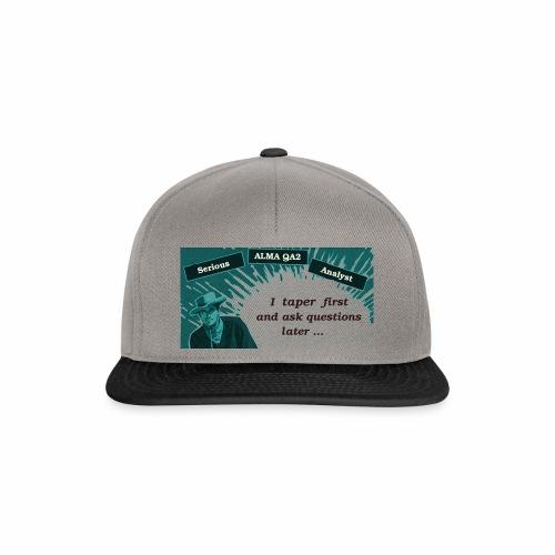 tapering large - Snapback Cap