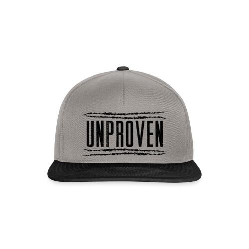 Unproven Lines Black - Snapback cap