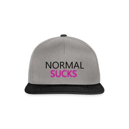 Normal Sucks Original - Gorra Snapback