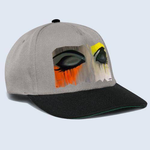 "Augenblick ""closed eyes"" made in Berlin - Snapback Cap"