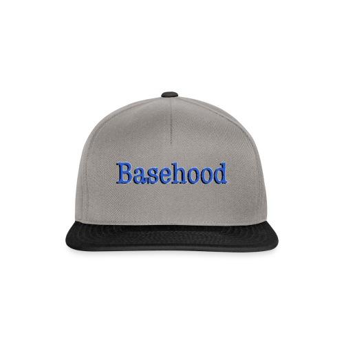 Basehood Basic Logo - Snapback cap
