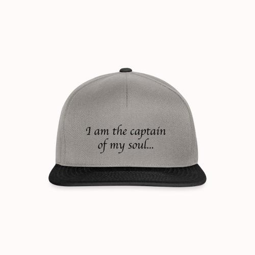 Captain of my soul - Casquette snapback