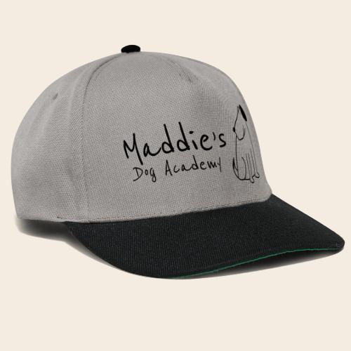 Académie des chiens de Maddie (noir) - Casquette snapback