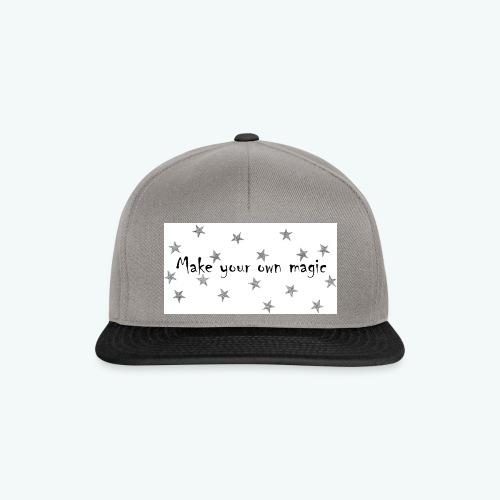 masja_shirt_1-png - Snapback cap