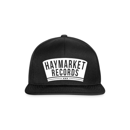 haymarketWHITE - Snapback cap