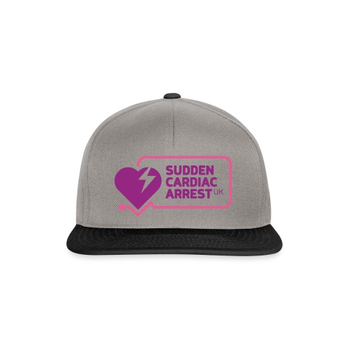 SCA UK Purple Logo - Snapback Cap