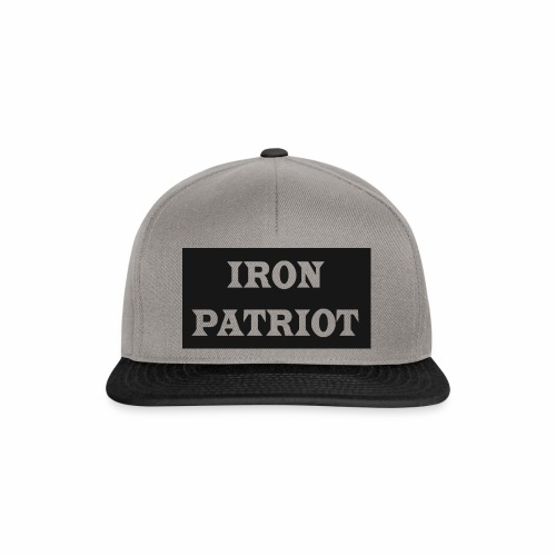 IRON PATRIOT - Snapback Cap